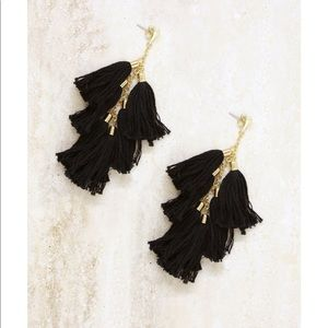 Ettika LA Daydreamer Tassel earrings